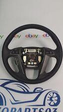 2009 Honda Pilot Steering Wheel Black Leather OEM