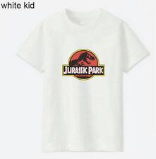 Jurassik Park tee shirt enfant  5ans blanc