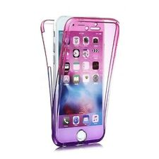 For iPhone 6s 4.7 360 degree Front and Back Full Body Gradient Gel Case Cover PP