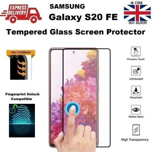 3D Full Screen Fingerprint Compatible Glass Screen Protector for Samsung S20 FE
