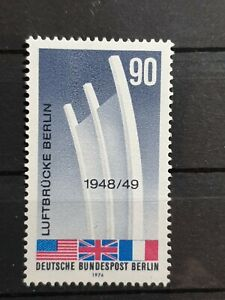 Berlin Germany - 1974 - Berlin Airlift  - 1  stamp set  - MNH