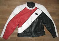 """ Krawehl "" Men's Motorcycle - Leather Jacket/Biker Combination Jacket IN Size"