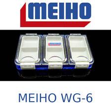Scatola Cassetta Contenitore da pesca portaoggetti minuteria Meiho Wg-6 spinning
