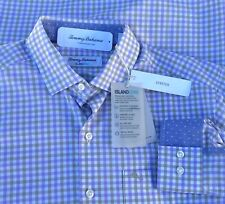 Tommy Bahama Men's Newport Gingham Stretch Button Down Shirt Small New $125