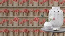 FD49254 FINE DECOR IN THE COUNTRY COUNTRY LIFE VINYL FEATURE WALLPAPER
