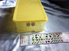Tupperware Prima Klima A 113 Gemüse gelb Kühlschrank Gemüsekiste gebraucht Obst