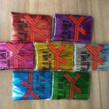 800 Pcs Colorful Metallic Twist Ties For Candy Lollipop Cake Pop Cello Bag Party