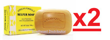 2 Pack African Formula Sulfur Soap For Acne Treatment--Freaky Fast Shipping!!!