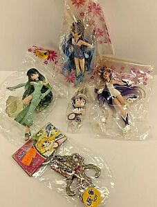Anime Mermaid Melody Pichi Pichi Pitch Keychain Figures Lot SEE DESCRIPTION