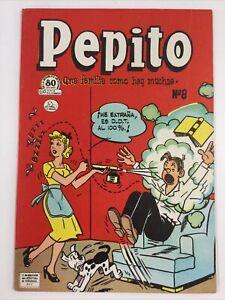 1953 SPANISH MEXICAN COMICS PEPITO #8 HORACE & DOTTY DRIPPLE LA PRENSA MEXICO