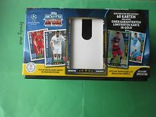 Topps Champions League giftbox 1 Limited Edition 40 base Check List póster