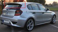 BMW SERIES 1 E81 E87 2004 - 2011 SPOILER ROOF POSTERIORE NEW AERO STILE