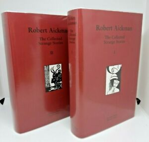 The Collected Strange Stories ROBERT AICKMAN Volumes I & II hardback Tartarus