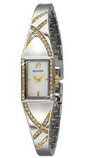 Tone Semi Bangle Watch Rrp £100.00 Accurist Lb1694P Ladies Fine Crystal Set Two