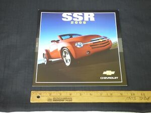 2006 Chevrolet SSR Dealer Sales Brochure CDN