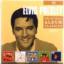 Elvis Presley - Original Album Classics 2011 RCA 5xCD Album Box Set Ex/M