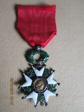 LEGION D HONNEUR III EME REPUBLIQUE