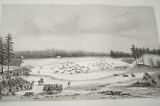 NAPOLEON COMBAT D'AMSTETTEN GRAVURE 1838 VERSAILLES R1093 IN FOLIO