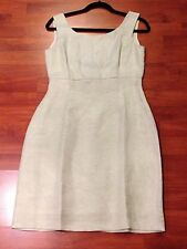 57175f5dcd9 SIRI Mint Light Green Sleeveless Cocktail Dress Scoop Back Empire Waist