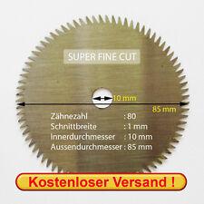 Hoja para sierra circular para Proxxon ECT/e y Fet (85x1,0x10 mm 72 Z)
