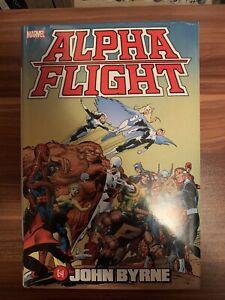 Alpha Flight by John Byrne Omnibus (2017, Hardcover) Marvel Wolverine X-Men Lee