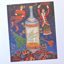 STOLICHNAYA / Advert Publicidad Publicite Reklame Russian Vodka Yuri Gorbachev