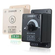 LED Dimmer Gradateur Variateur Contrôleur Luminosité Lumiere Eclairage DC 12-24V