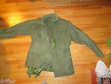 Military Cold Weather Field Jacket coat with med Liner