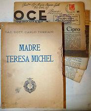 Torriani: Madre Teresa Michel 1947 + Voce Alessandrina Piccole Suore Provvidenza