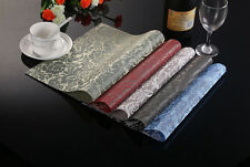 Set of 4 Kitchen Table Creative Mats Insulation Bowl Placemats Dining Pad