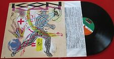Synth Pop KON KAN ** Move To Move ** RARE 1989 Germany LP w/ INSERT