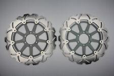 Dischi freno anteriore margherita per MZ MZ 1000 S 1000 2001-2003