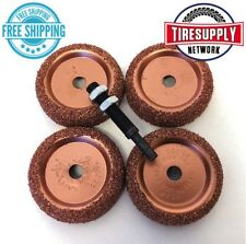 5pc Tire Changer Inner Liner Buffing Wheels Disc Radial Repair Patch BC1 14-324