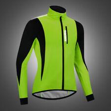 Winter Thermal Fleece Cycling Jacket Bicycle MTB Road Bike Clothing Reflective