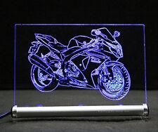 Suzuki GSX-R 1000 als Gravur auf LED Leuchtschild