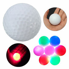 Light-up Color Changing Flashing Glowing LED Electronic Golf Ball Night Golfings