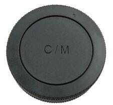 JJC Front/Rear Lens Cap Canon EOS-M Lens/Camera