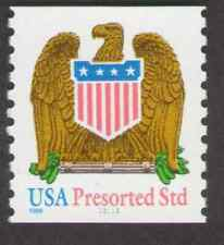 US. 3270. (10c) Eagle, Bulk Rate Coil Single. #11111. MNH. 1998