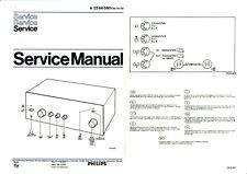 Service Manual-Anleitung für Philips 22 AH 590