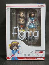 Max Factory FIGMA 002 Melancholy of Haruhi Suzumiya School Uniform ver. figure
