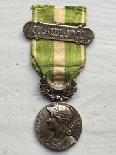 3) Médaille militaire campagne du MAROC ABEC BARRETTE french medal