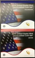 2014 United States Mint Uncirculated Coin Set