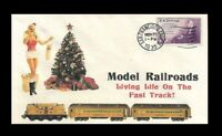 1930s Model Railroading Pin Up Girl Ad Featured on Collector's Envelope *249