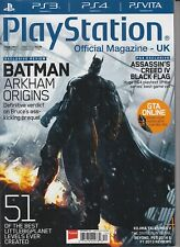 Play Station Official Magazine - UK Issue 090 December 2013 Batman Arkham Origin
