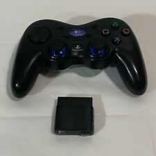 PS2 Logitech Wireless Controller W/ Receiver TESTED W/ Dongle, No Battery Cover