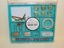 NEW~Erin Condren DO~IT~ALL Desk Set-in decorative closable box