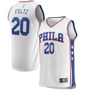 Philadelphia 76ers Markelle Fultz Fanatics Jersey Size 2XL White NEW