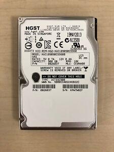 """10 x HGST HUC109090CSS600 900GB 10K RPM SAS 6Gbps 2.5"""" HDD A1"""