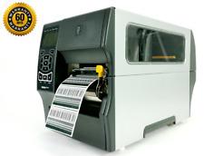 Zebra ZT410 Direct Thermal Label Printer w/ Peeler UPS LAN USB 203dpi 123100-210