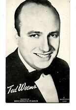 Ted Weems-Famous Big Band Bandleader-Jazz Musician-Vintage Mutoscope Postcard
